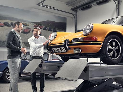 Porsche Classic Check und Technisches Zertifikat.