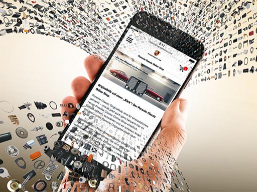 Porsche Classic Online Shop.